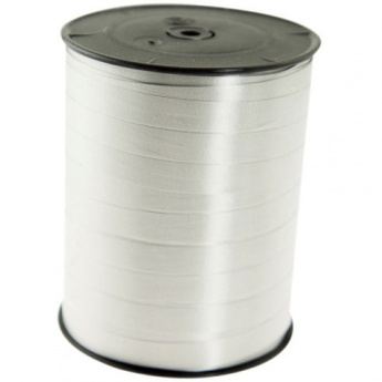 Presentband poly silver 10mmx250m